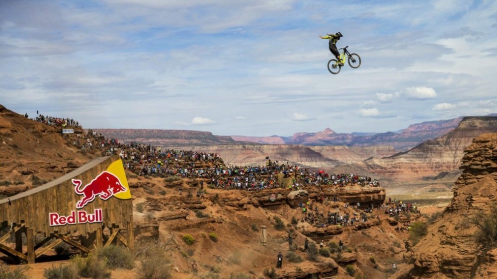 redbull rampage mountain bike