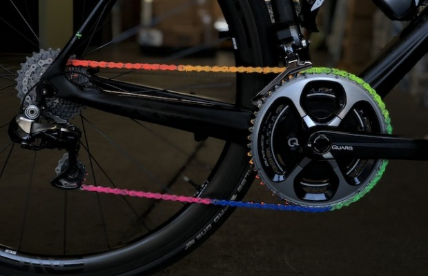 Wend Wax, the lubricant that color your chain