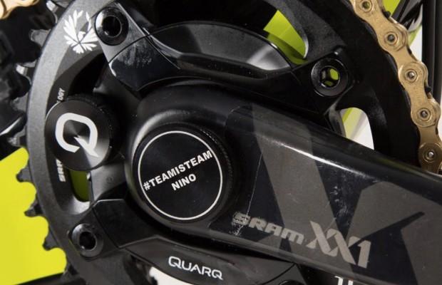 Qué esconde Nino Schurter en el pedalier de su Scott Spark