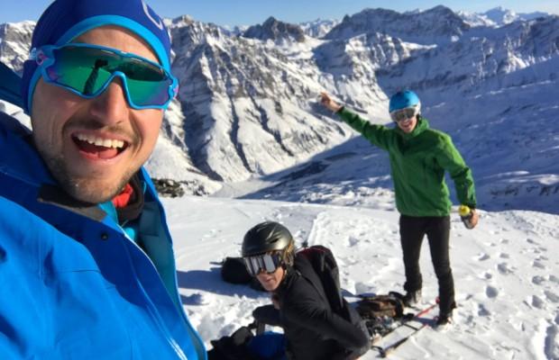 Beneficios del esquí de montaña para ciclistas