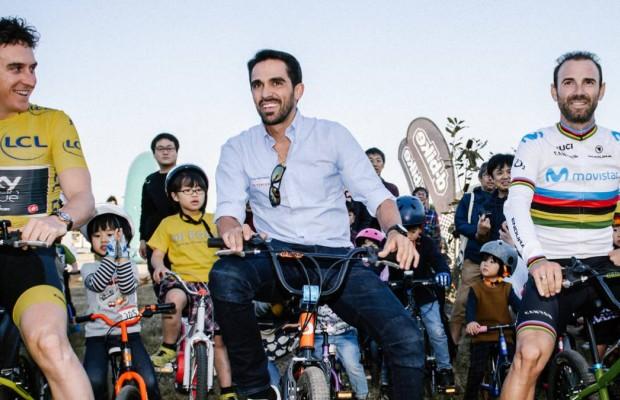 """Alberto Contador: """"Quitar los potenciómetros sería bueno para el espectáculo, agudizaría el instinto del ciclista"""""""