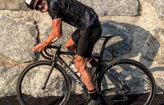 XCE World Champion Daniel Federspiel, goes to road cycling