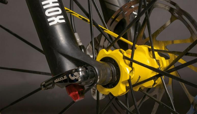 Ejes para ruedas de mountain bike