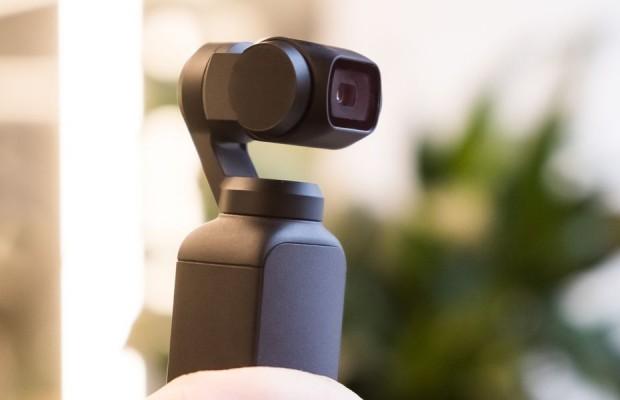 DJI Osmo Pocket, la cámara con 4K y estabilizador profesional más pequeña del mundo