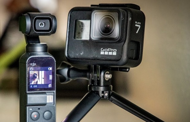 DJI Osmo Pocket v.s GoPro Hero 7 Black ¿cuál es mejor para Mountain Bike?