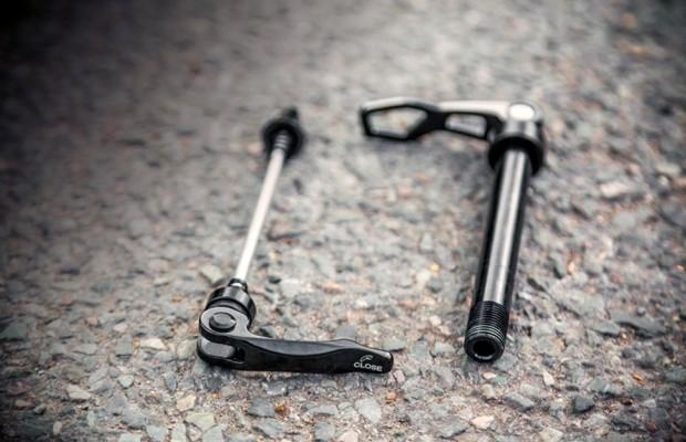 Ejes para ruedas de mountain bike, tipos y características