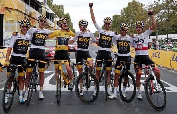 Cómo es el ciclismo después del equipo Sky
