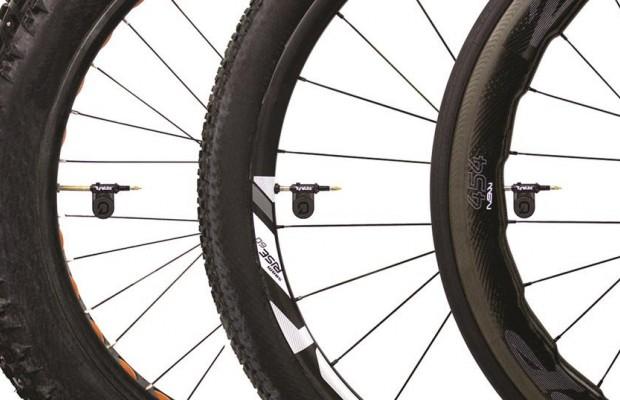 Quarq Tyrewiz, el primer sensor de presión para neumáticos de bicicleta