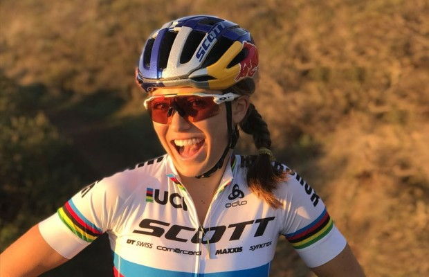 Kate Courtney y Lars Forster fichan por el Scott SRAM