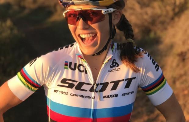 Así es Kate Courtney, todo sobre la Campeona del Mundo XCO y el fichaje revelación del Scott SRAM