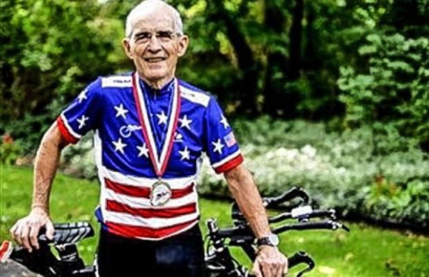 Este ciclista de 90 años ha dado positivo en un test antidopaje
