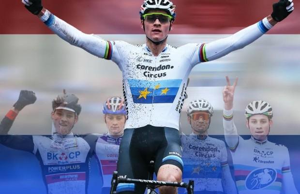 Mathieu Van der Poel, ahora sí, consigue su victoria 100 con el campeonato nacional de Países Bajos