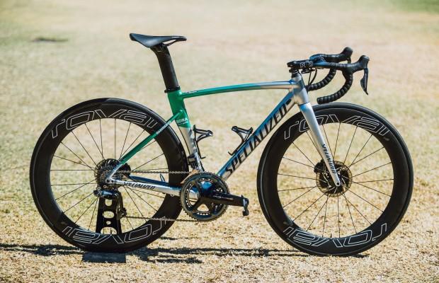 Peter Sagan ha elegido una bici de aluminio para competir