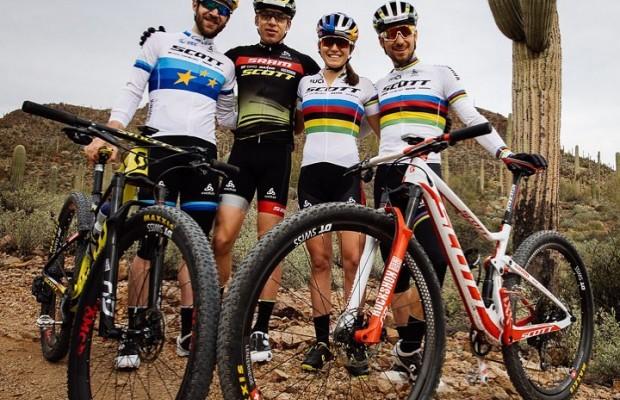 Así está siendo el entrenamiento del equipo Scott SRAM en Arizona