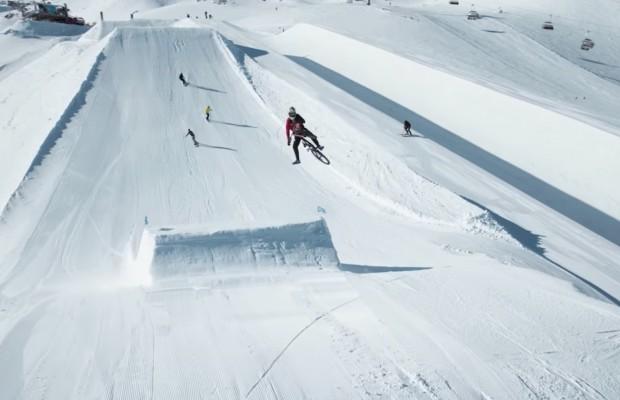 Mountain bike v.s Snowboard