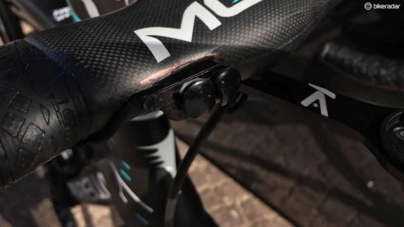 La bici de Chris Froome