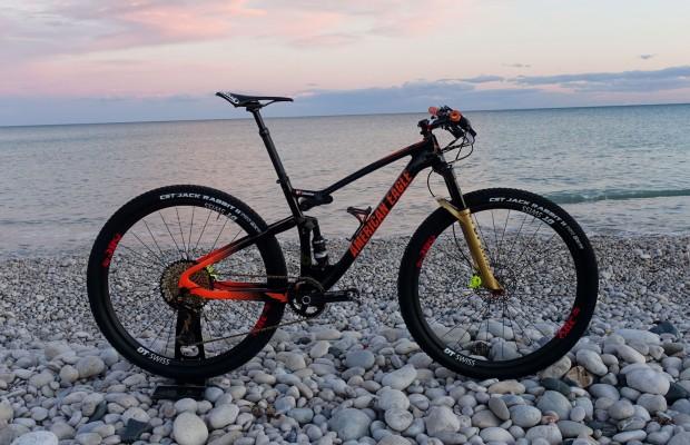 Al detalle la American Eagle con la que Sebastian Fini ha ganado la Costa Blanca Bike Race 2019