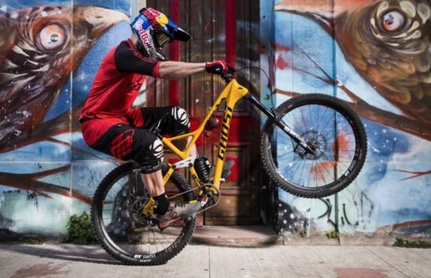 Ghost FR AMR 8 LC, la MTB con la que Tomas Slavik ganó Valparaíso Cerro Abajo 2018