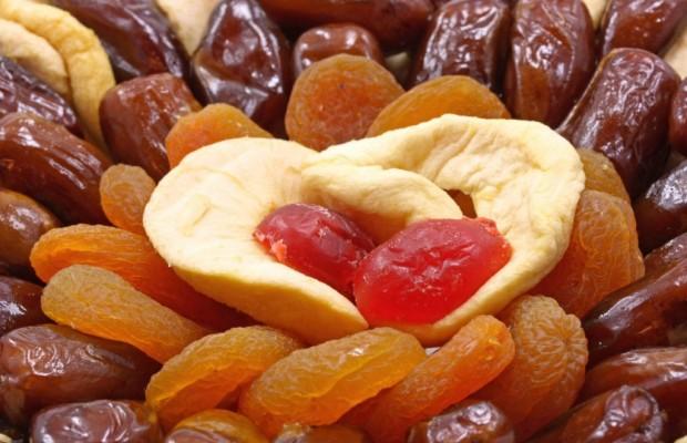Fruta deshidratada, una buena alternativa a las barritas energéticas