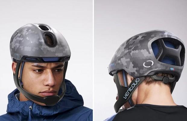 Ventoux, un casco para ciclistas de carretera con protección frontal