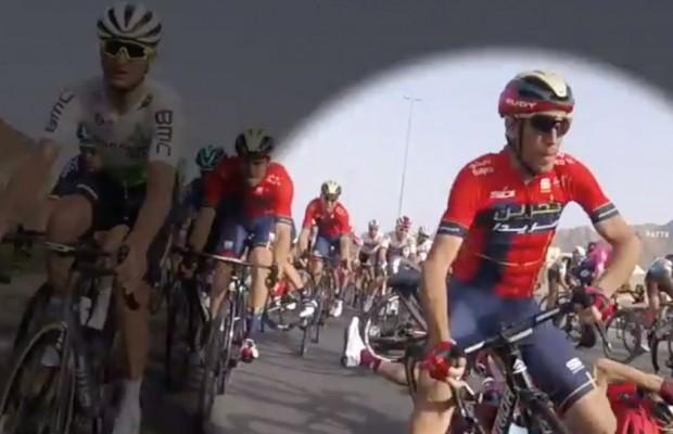 ¿Habilidad, experiencia o suerte? Vincenzo Nibali salvó una caída casi inevitable