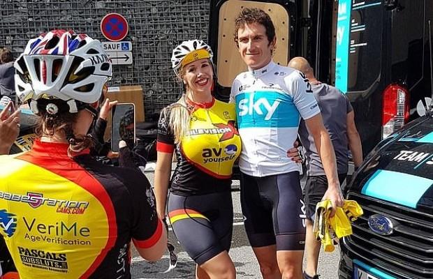 La federación inglesa expulsa a un club ciclista integrado por estrellas del porno