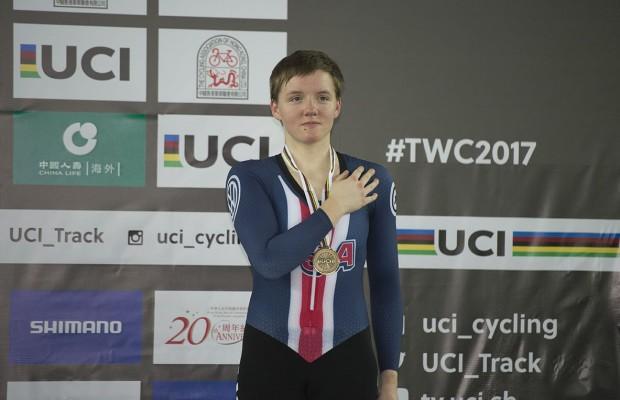 Se suicida la campeona del mundo y ciclista olímpica Kelly Catlin a los 23 años