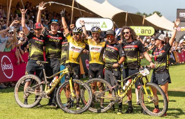 Para ganar la Cape Epic hace falta mucho más que una pareja de bikers. El Scott SRAM  es el mejor ejemplo