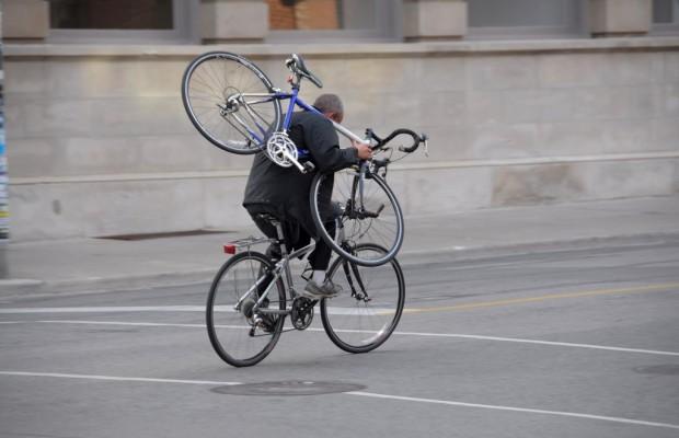 La policía alerta de un nuevo método para robar bicicletas de alta gama