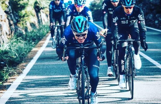"""Froome: """"Valverde ha demostrado que la edad no es un factor decisivo en el ciclismo, al contrario de lo que piensa mucha gente"""""""