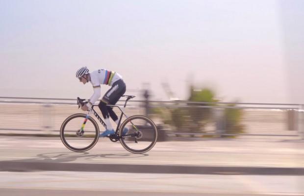 El ciclista total está naciendo, Mathieu Van der Poel