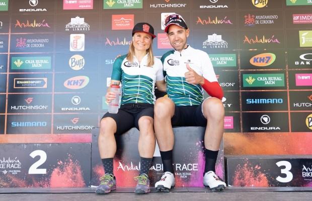 David Valero y Hildegunn Hovdenak se adjudican la Andalucía Bike Race 2019
