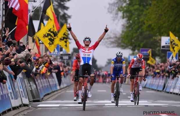Van der Poel gana la Flecha Brabanzona con otro recital de ciclismo
