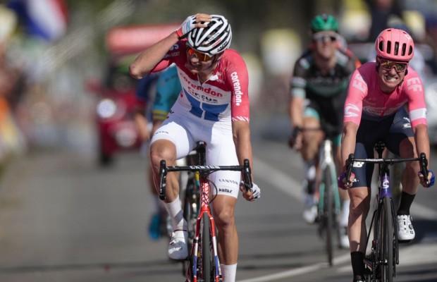 Un Van der Poel inmenso gana la Amstel Gold Race