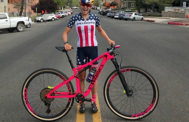 Así es la Specialized Epic S-Works de Kate Courtney