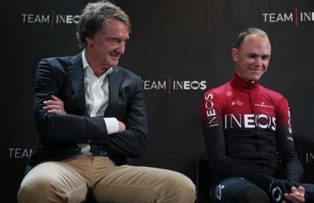 Froome sale en defensa de Ineos, su nuevo patrocinador, tras las críticas recibidas