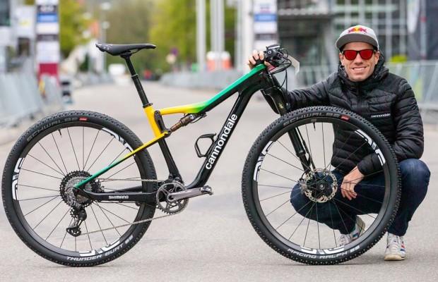Avancini estrena diseño en su Cannondale para la Copa del Mundo de Albstadt 2019
