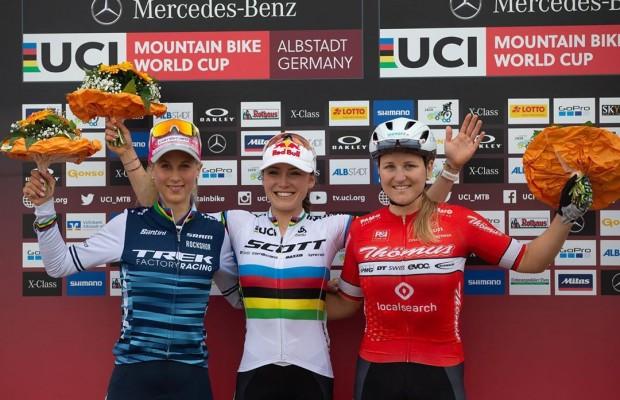 Kate Courtney gana el Short Track de la Copa del Mundo de Albstadt 2019