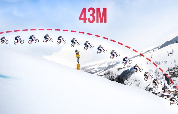 ¿Es este el salto más grande en mountain bike de la historia?