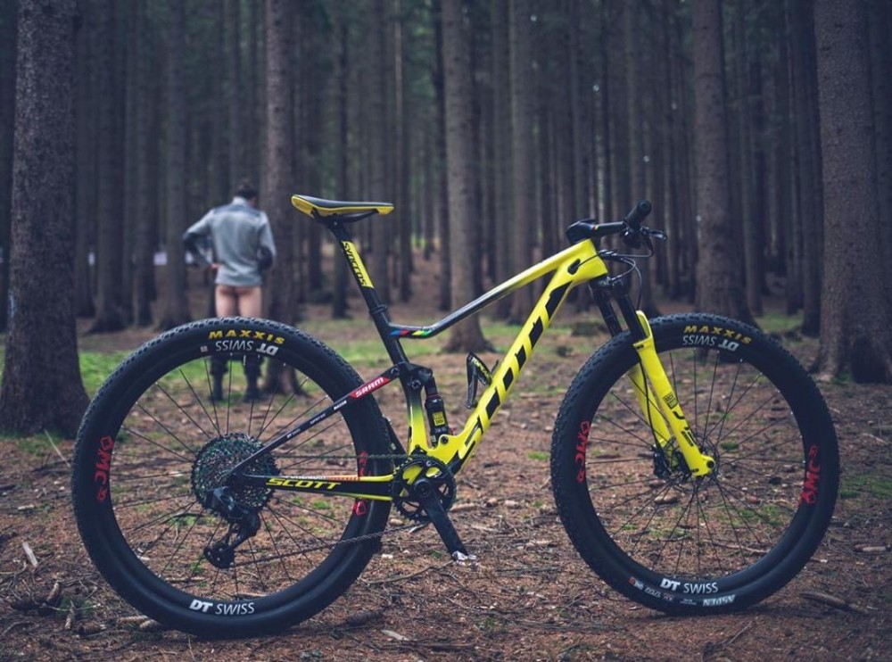 La mountain bike di N1NO Schurter: Scott Spark RC 900