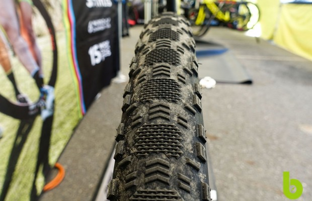 These are the Maxxis tires that Nino Schurter tested in Nove Mesto