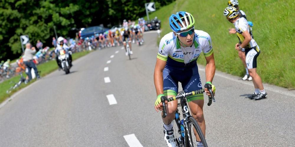 Nino Schurter en bici de carretera