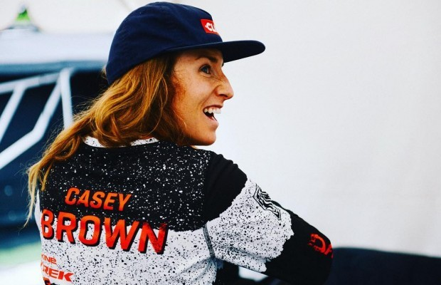 Casey Brown will be the first woman in the RedBull Rampage