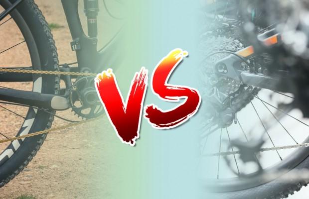 SRAM Eagle vs Shimano XTR, ¿cuál elegir?