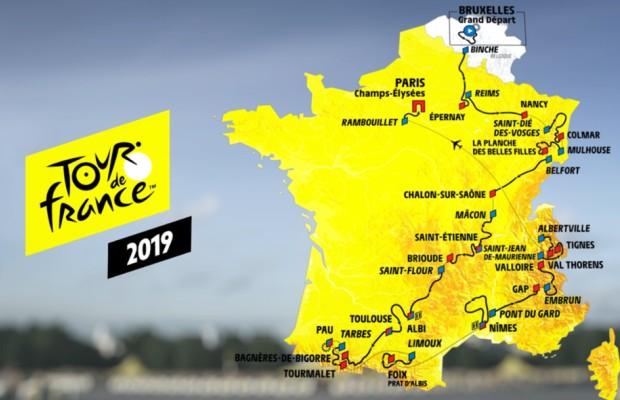 Estas son las 5 etapas que no te puedes perder del Tour de Francia 2019