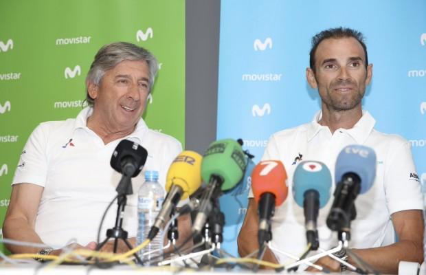 Valverde renueva con el Movistar Team y se retirará con 41 años