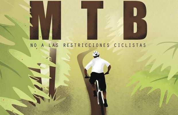 El MTB está en peligro en Colserolla, Barcelona