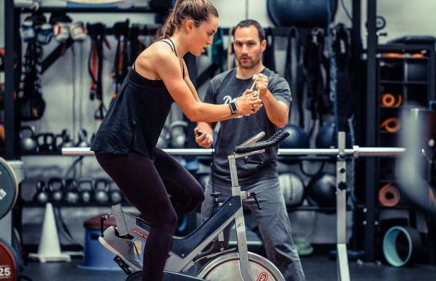Así es el entrenamiento de Kate Courtney