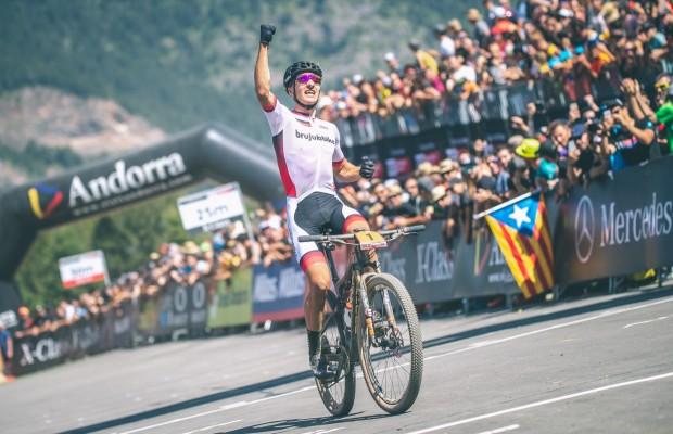 Vlad Dascalu wins the UCI MTB World Cup XCO – Vallnord U23