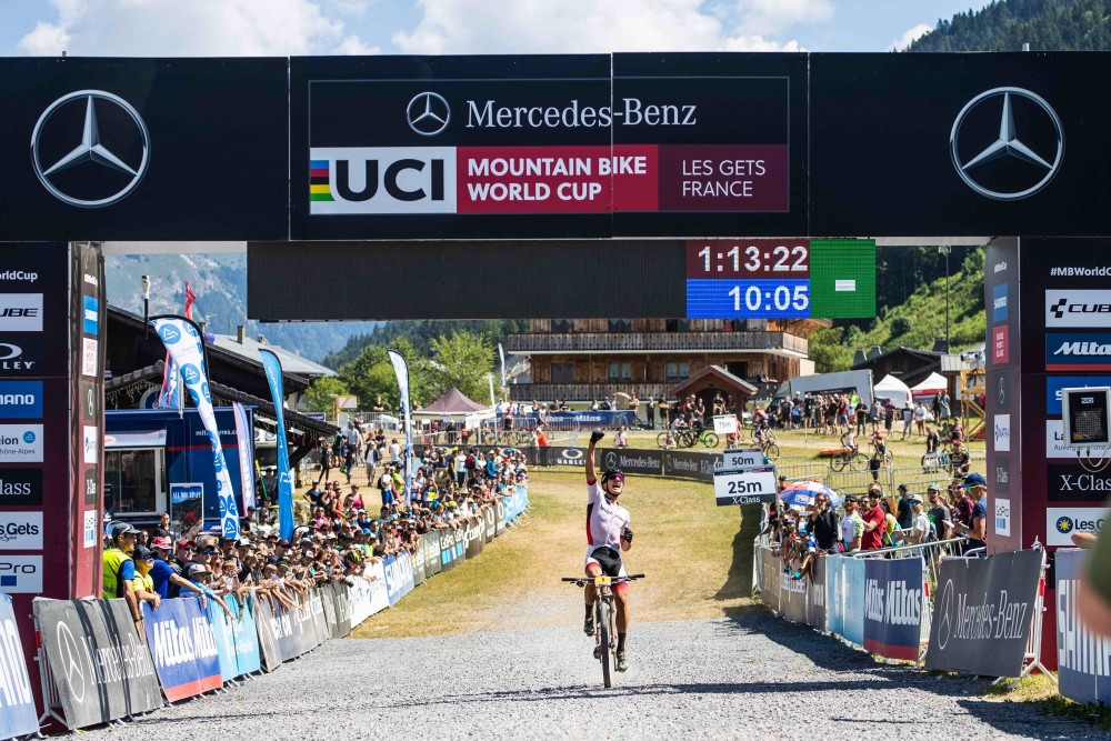 Vlad Dascalu obtains an epic victory in the Les Gets U-23
